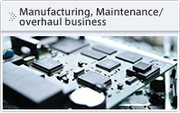 Manufacturing, Maintenance/overhaul business